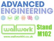 Wallwork on stand M102 at Advanced Engineering 2019