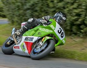 Jamie Coward in action for Mistral Racing