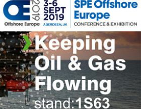 Wallwork on stand 1S63 at SPE Offshore Europe 2019